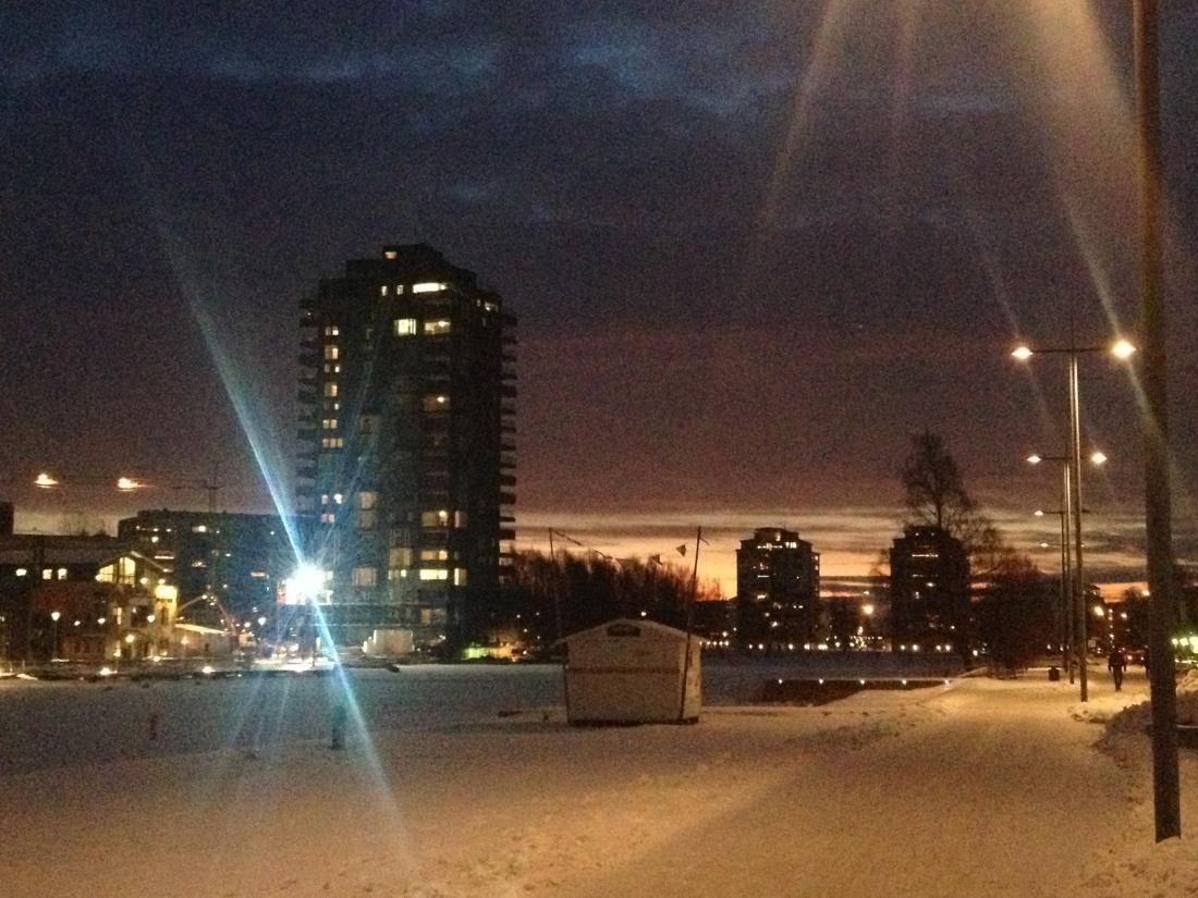 Bryggudden decembermorgon 2012