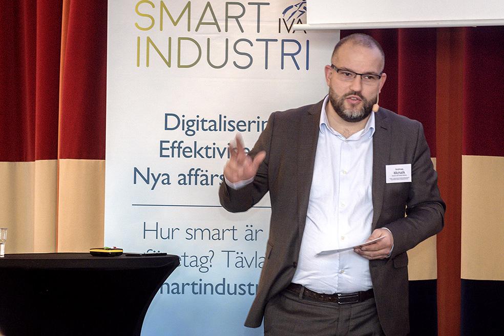 Smart industri-möte i Karlstad Andreas Michalik, Siemens